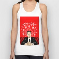 Twin Peaks: Dale Cooper's Thoughts Unisex Tank Top