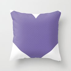 I love you this much... (purple) Throw Pillow