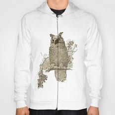 Vintage Owl Hoody