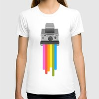 rainbow T-shirts featuring Taste the Rainbow by Zeke Tucker