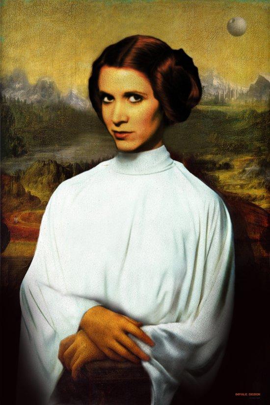 Mona Leia Canvas Print