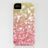 iPhone 4s & iPhone 4 Cases featuring Champagne Tango by Lisa Argyropoulos