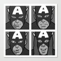 The secret life of heroes - Photobooth2-Total Canvas Print