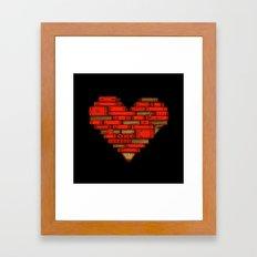 Book Love Framed Art Print