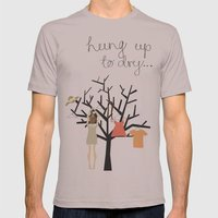 Hung up to dry... Mens Fitted Tee Cinder SMALL