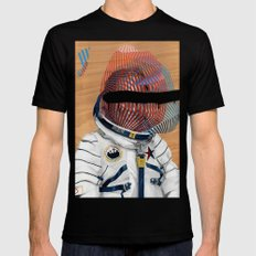 Spaceman No:2 SMALL Mens Fitted Tee Black