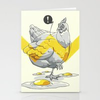 Chicken In The Kitchen Stationery Cards