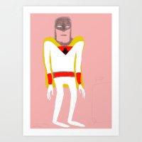 Space Ghost. Art Print