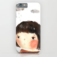 iPhone & iPod Case featuring Rain on me by munieca