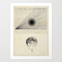I've Been To The Moon Art Print
