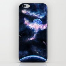 Space Scene Zero One iPhone & iPod Skin