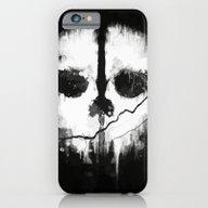Call Of Duti Skull Ink iPhone 6 Slim Case