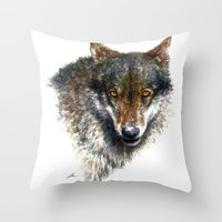 Ferocious Throw Pillow