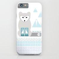 Kettu the Arctic Fox iPhone 6 Slim Case