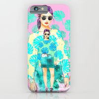 iPhone & iPod Case featuring Monstera Deliciosa by Sara Eshak