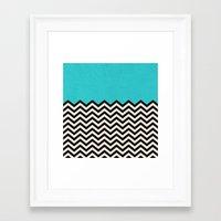 Framed Art Print featuring Follow the Sky by Bianca Green
