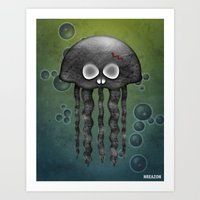 Jelly Swamp Print By NRE… Art Print