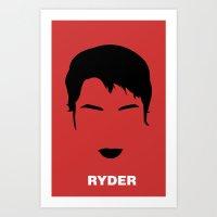 RYDER Art Print