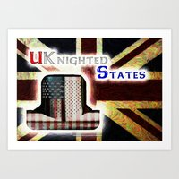 UKnighted States 4.0 Art Print