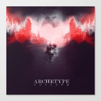 Archetype: Goliath Canvas Print