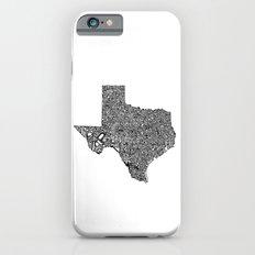Typographic Texas iPhone 6 Slim Case