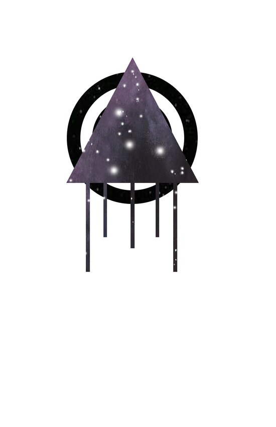 Dripping Space Canvas Print
