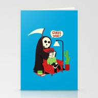 Guess Who Stationery Cards