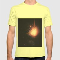 Firework! Mens Fitted Tee Lemon SMALL