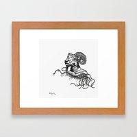 Khnum Framed Art Print