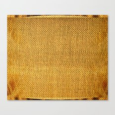 Burlap texture look Canvas Print