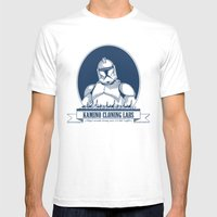 Kamino Cloning Labs Mens Fitted Tee White SMALL