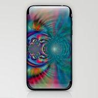 Oasis Light - Digital Ar… iPhone & iPod Skin