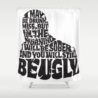 Best Churchill Quote Eve… Shower Curtain