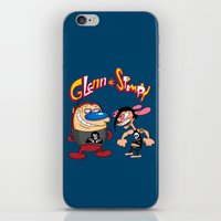 Glenn & Stimpy iPhone & iPod Skin