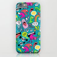 iPhone & iPod Case featuring Monster Party by Chris Piascik