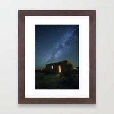 Terlingua Milky Way  Framed Art Print