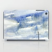 Bird on a wire iPad Case
