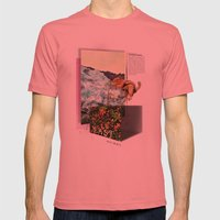 Alpine Tundra Mens Fitted Tee Pomegranate SMALL