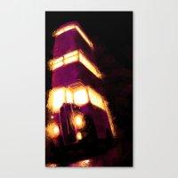 Violently Purple Canvas Print
