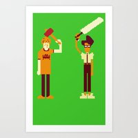 The IT Crowd: Masters Of… Art Print