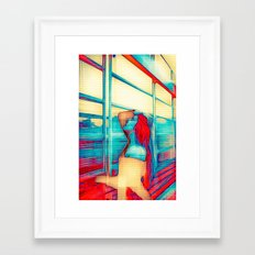 Putting the pieces together Framed Art Print