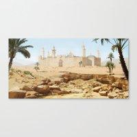 Desert City Canvas Print