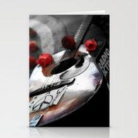 Guitar Strawberry Fields… Stationery Cards