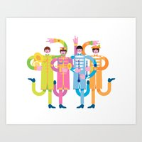 Sgt. Peppers Reloaded Art Print
