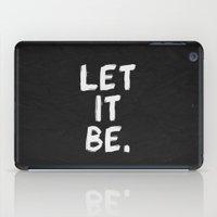 Let It Be 01 iPad Case