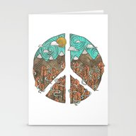 Peaceful Landscape Stationery Cards