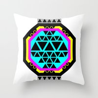 ::: Octagonal ::: Throw Pillow