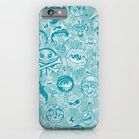 iPhone & iPod Case featuring Characters by Mike Friedrich