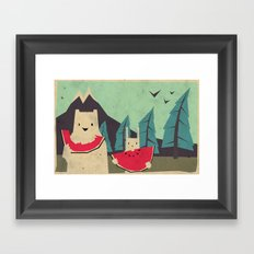 I want moaarrr! Framed Art Print