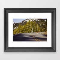 crosswalk Framed Art Print
